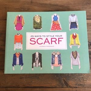 🧣25 Ways to Style Your Scarf BOOK Lauren Friedman